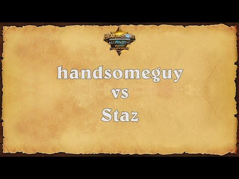 handsomeguy vs Staz -  Asia Pacific Winter Championship - Match 1