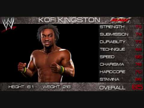 WWE Smackdown vs Raw 2009 Official Roster! part 1