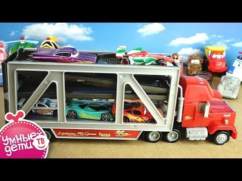 MAK транспортировщик и трек Обзор игрушек