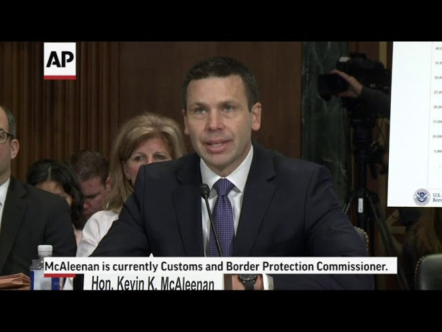 Homeland Security Sec. Kirstjen Nielsen resigns