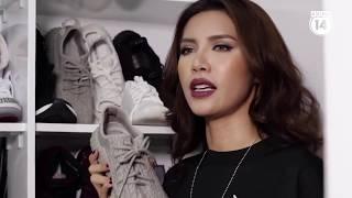 Đầu giày  Minh Tú bỏ cả ngàn đô mua sneakers