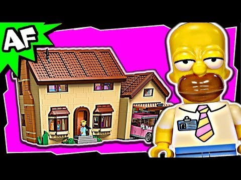 Lego The SIMPSONS HOUSE 71006 Stop Motion Build Review