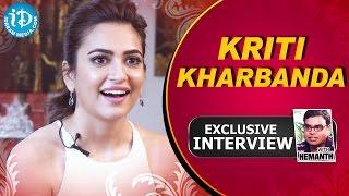 Kriti Kharbanda Exclusive Interview || Talking Movies With iDream # 27