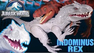 Opening: Jurassic World INDOMINUS REX Electronic Lights & Sound UNBOXING