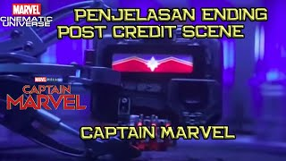 Penjelasan Ending & Post Credit Scene Captain Marvel | Menjawab Posisi Kosong Di Trailer End Game