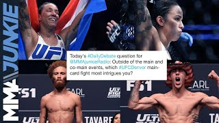 Daily Debate: Which #UFCDenver main card fight are you looking forward to most?