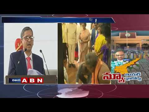 Justice NV Ramana Speech at AP High Court Inauguration Event | | ABN Telugu
