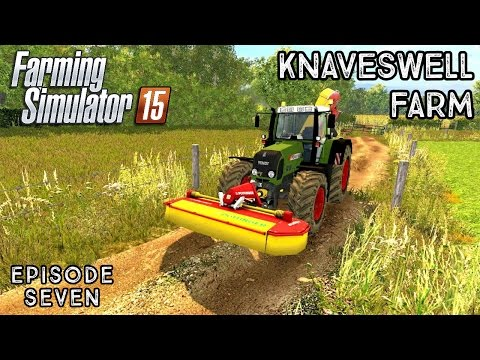 Let's Play Farming Simulator 2015 | Knaveswell Farm | Episode 7