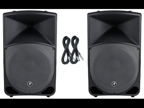 Mackie Thump TH-15A Two Way Powered Speaker Review