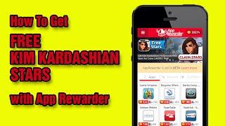 Get Free Kim Kardashian Stars w/ App Rewarder