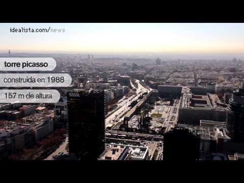 los 10 edificios más altos de madrid (vídeo)
