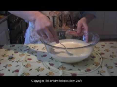 mmm helado de vainilla