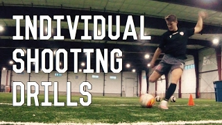How To Improve Shooting | Individual Shooting Drills For Footballers/ Soccer Players