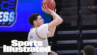 The Story Behind Lonzo Ball's Weird Shooting Form: His Coach Reveals | SI NOW | Sports Illustrated