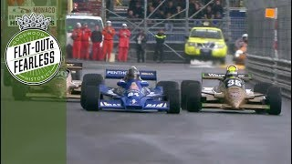 Monaco Historic 1977-'80 F1 full race highlights 2018