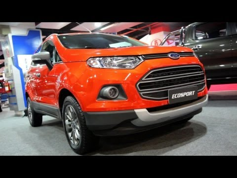Ford Ecosport 2013 revisada en Perú I Video en Full HD I Todoautos.pe