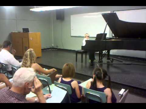 Conner Klein Piano Recital.