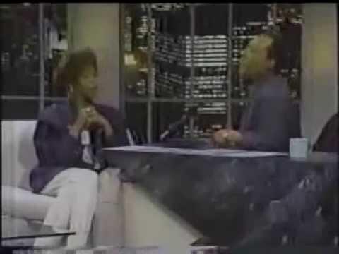 whitney houston byron allen show 1990