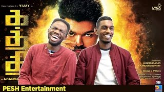 Kaththi Trailer Reaction | PESH Entertainment