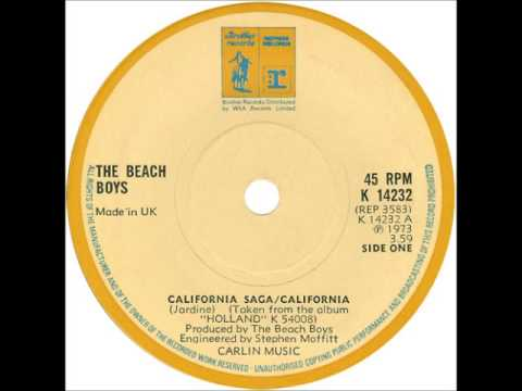 The Beach Boys - California Saga/California (Single Version)