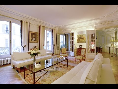 appartement haussmannien de standing vendre paris 8 me youtube. Black Bedroom Furniture Sets. Home Design Ideas