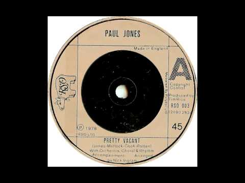 Paul Jones - Pretty Vacant (sex Pistols Cover) video