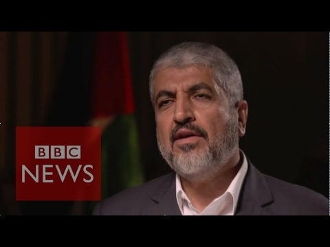 Khaled Meshaal dismisses comparisons between Hamas & Islamic State - BBC News