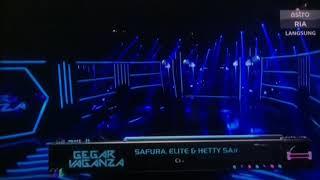 Safura Elite & hetty Sarlene - cinta gila di Gegar Vaganza 2018