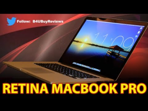 Retina Apple MacBook Pro 15