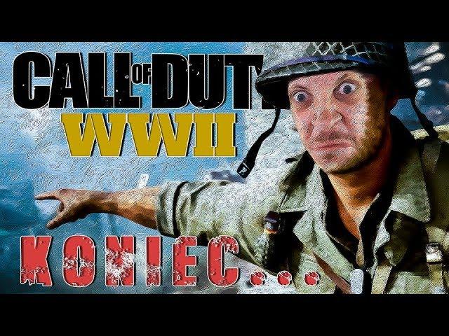 NISZCZĘ NIEMCÓW, WYZWALAM OBÓZ, KOŃCZĘ GRE - CALL OF DUTY WW2 #11 - WarGra