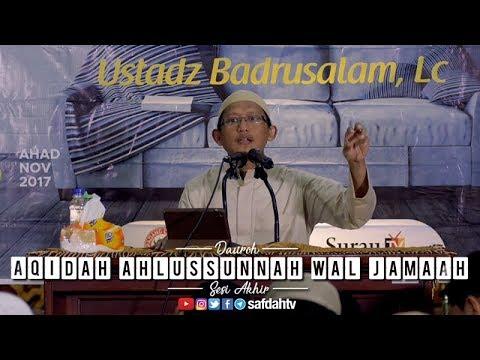 Daurah Aqidah Ahlussunnah Wal Jama'ah Sesi Akhir