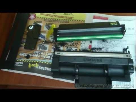 Recarga  Toner Samsung D205L  impresoras scx 4833, ml3310