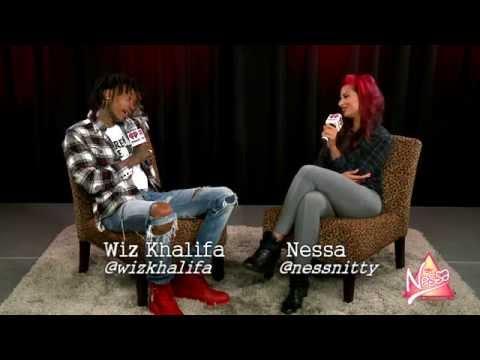 Wiz Khalifa talks Amber Rose twerking, Blacc Hollywood and a Madonna collab!