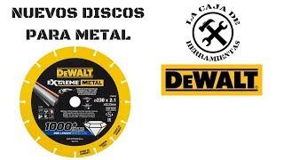 NUEVOS Discos Dewalt Extreme mettal