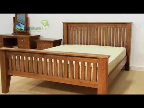 Bedroom Furniture - Aston Solid Oak Bed. The Aston oak bedroom is a product ...