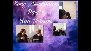 FUNNY SONG ASSOCIATION GAME ‼️😂 | RAP VERSION  | (K CHEATED‼️)
