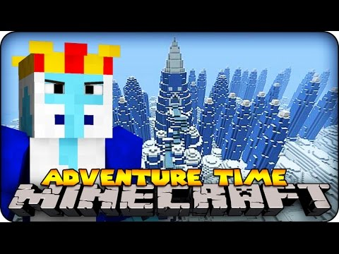 Minecraft - ADVENTURE TIME - Ice King and Princess Bubblegum ! #2