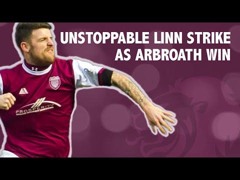 Unstoppable Linn strike as Arbroath win!