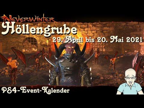 NEVERWINTER: Event-Kalender Höllengrube -29. April 16:30 Uhr bis 20. Mai 2021 16:30 Uhr- PS4 deutsch