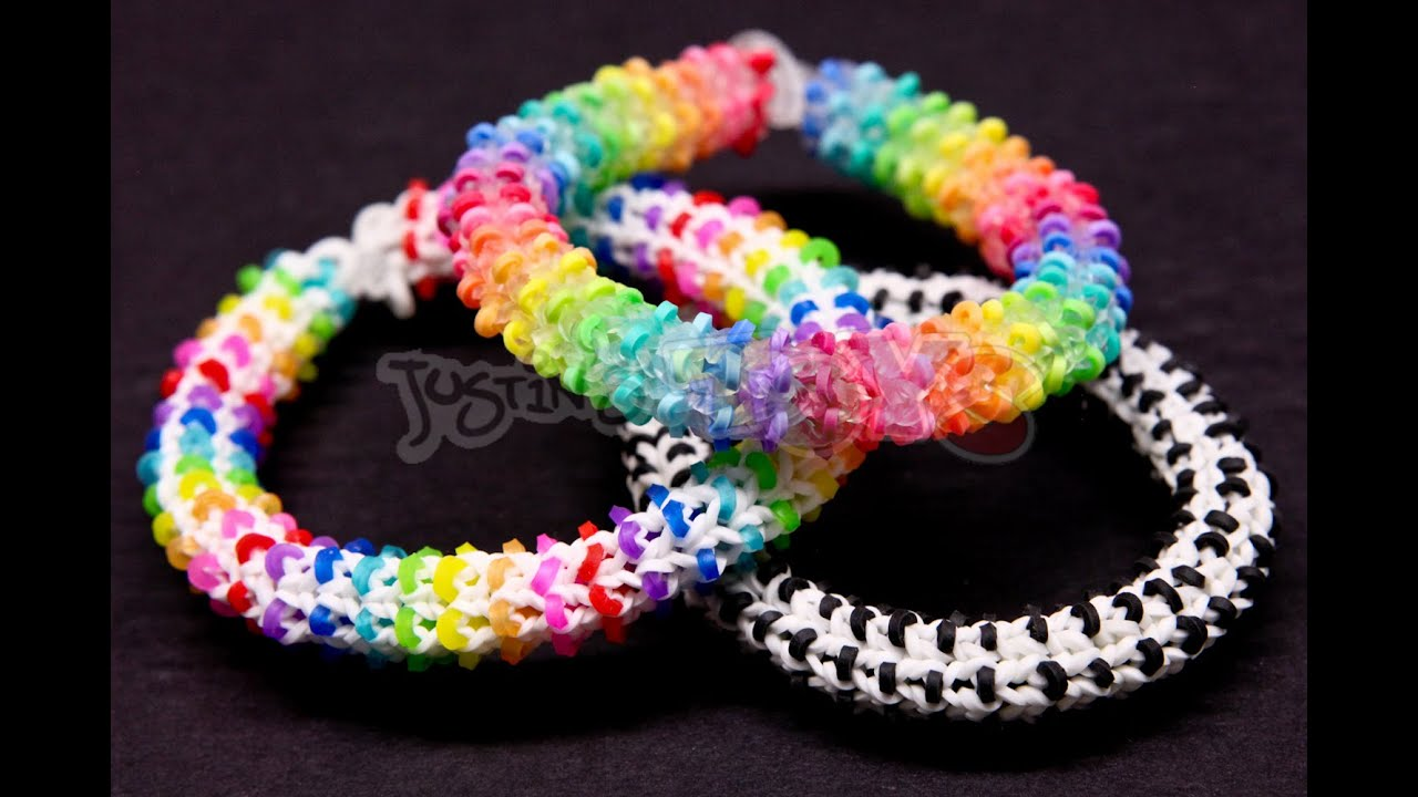 rainbow loom bracelet hexafish  eBay