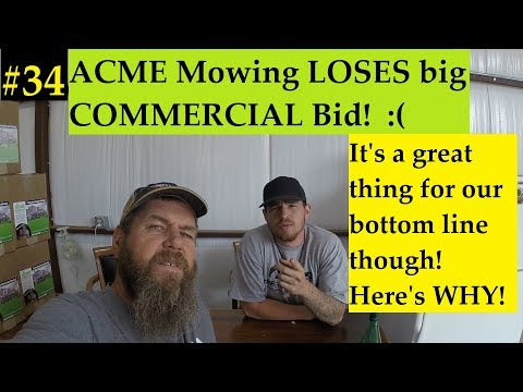 #34 Starting a Lawn Care Business- No COMMERCIAL property for us.  Instead we make even more money!