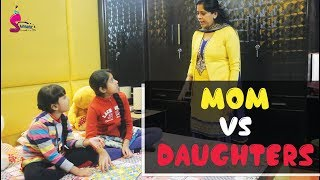 MOM VS DAUGHTERS funny fight | daily issue | best mom 2018