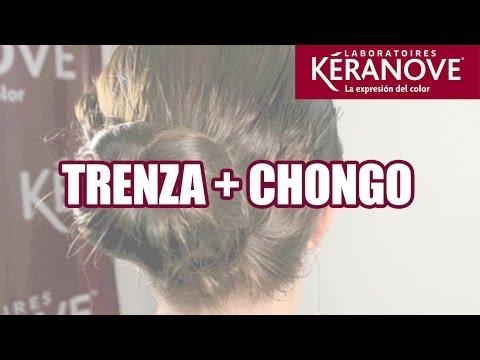 DIY Tutorial: Peinado Trenza + Chongo