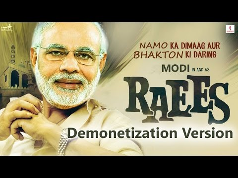 Raees Trailer 2 (Demonetization Version) ft. Narendra Modi as Shah Rukh Khan & Arvind Kejriwal || KG thumbnail
