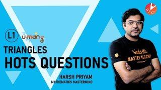 Triangles - 1 | HOTS Questions | CBSE Class 10 Maths | Chapter 6 | NCERT Questions