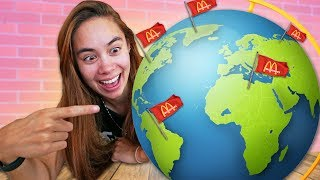 Trying McDonalds From Around the World!
