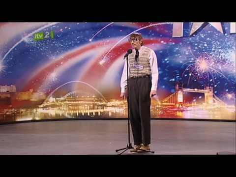 [subtitles] Eugene The Librarian (HQ) Britain's Got Talent 2009