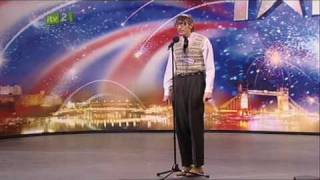 [+captions] Eugene The Librarian (HQ) Britain's Got Talent 2009