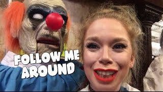 FOLLOW ME AROUND SPIRIT HALLOWEEN!