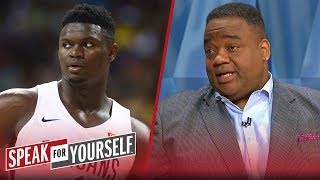 Jason Whitlock: 'There is some concern' over Zion Williamson's weight | NBA | SPEAK FOR YOURSELF